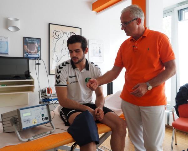Interview avec Dr.Toussaint : L'innovation dans le traitement des blessures sportives